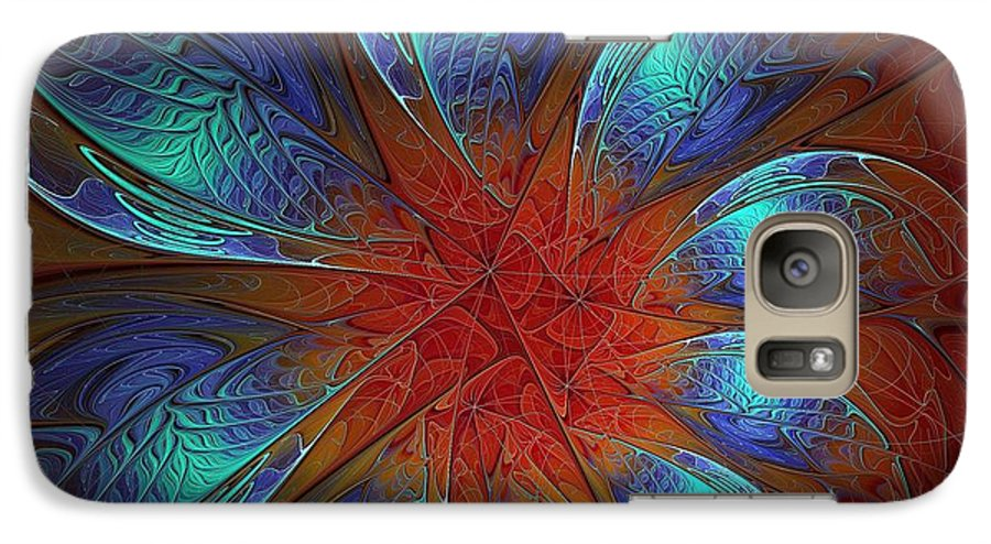 Digital Art Galaxy S7 Case featuring the digital art Always And Forever by Amanda Moore