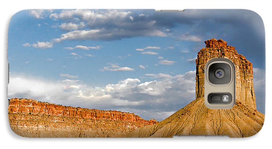 Mountain Galaxy S7 Case featuring the photograph Amazing Mesa Verde Country by Christine Till
