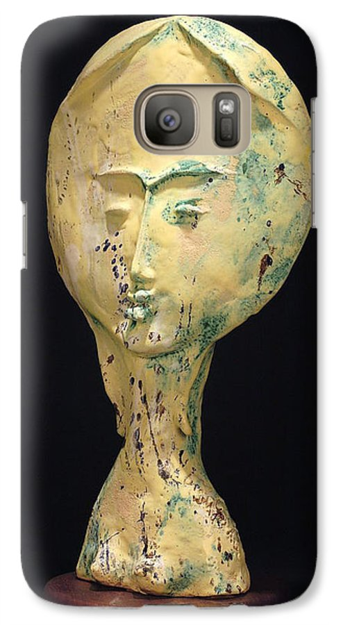 Galaxy S7 Case featuring the sculpture Ambrosia by Gian Genta