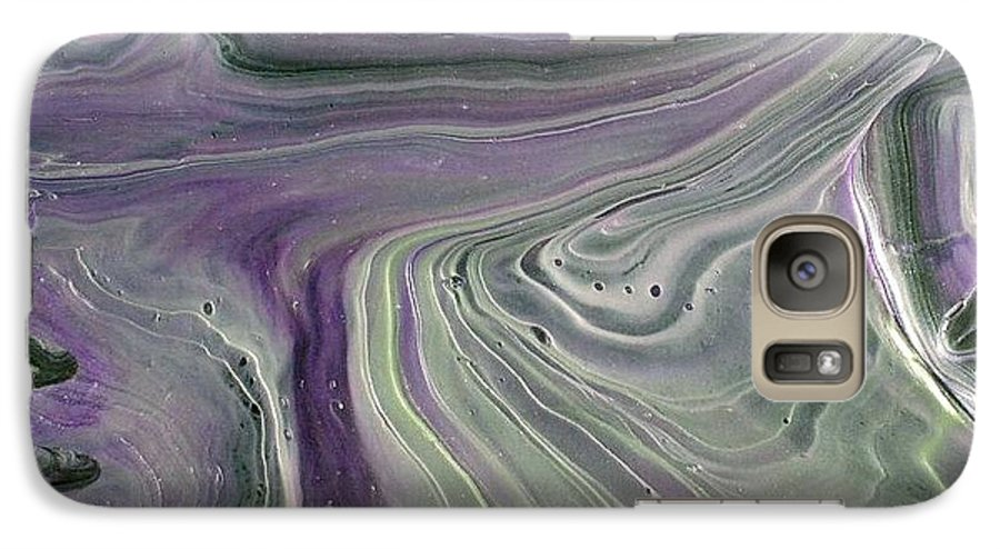 Abstract Galaxy S7 Case featuring the painting Amore Prima by Patrick Mock