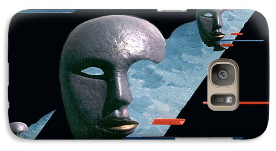 Surreal Galaxy S7 Case featuring the digital art An Androids Dream by Steve Karol