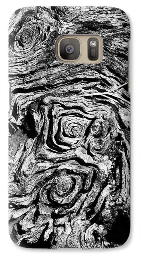 Tree Galaxy S7 Case featuring the photograph Ancient Stump by Christopher Holmes