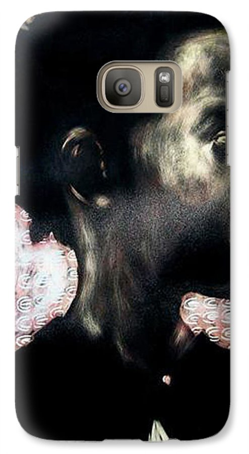 Galaxy S7 Case featuring the mixed media Angel Of Mercy by Chester Elmore
