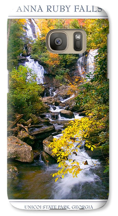 Landscape Galaxy S7 Case featuring the photograph Anna Ruby Falls by Peter Muzyka