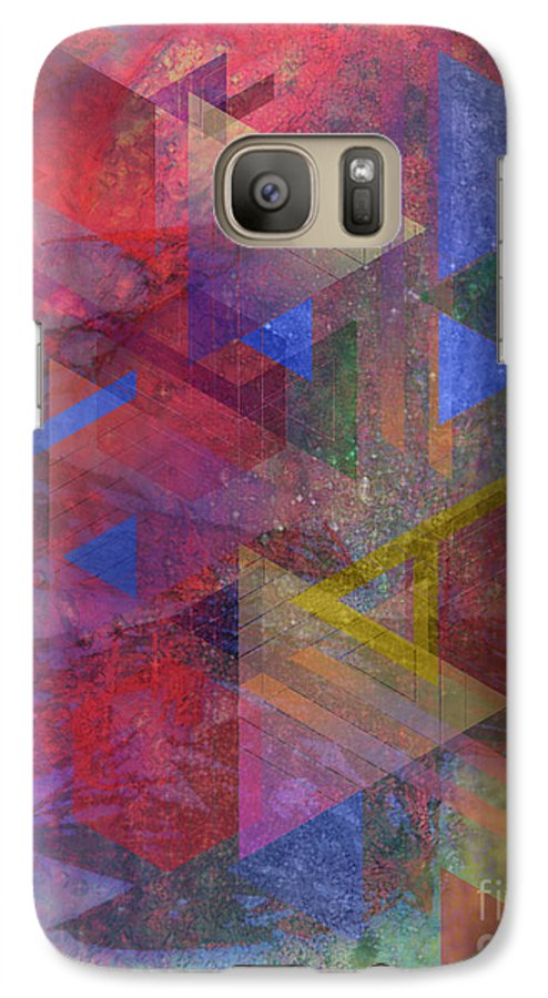 Another Time Galaxy S7 Case featuring the digital art Another Time by John Beck