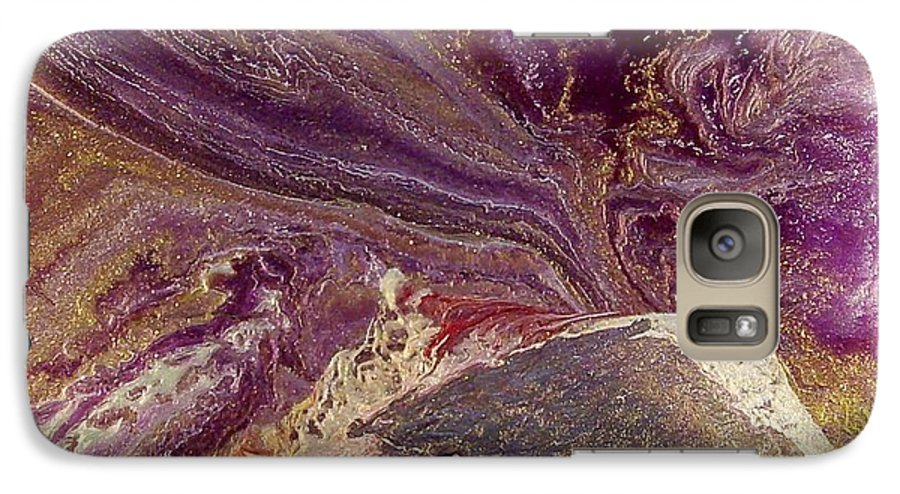 Abstract Galaxy S7 Case featuring the painting Appassionata by Patrick Mock