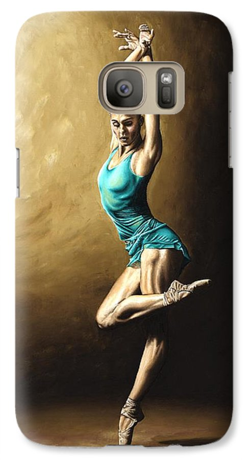 Dance Galaxy S7 Case featuring the painting Ardent Dancer by Richard Young
