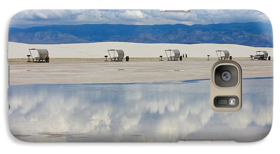 New Mexico Galaxy S7 Case featuring the photograph Armageddon Picnic by Skip Hunt