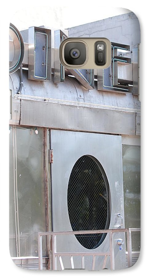 Architecture Galaxy S7 Case featuring the photograph Art Deco Diner by Rob Hans