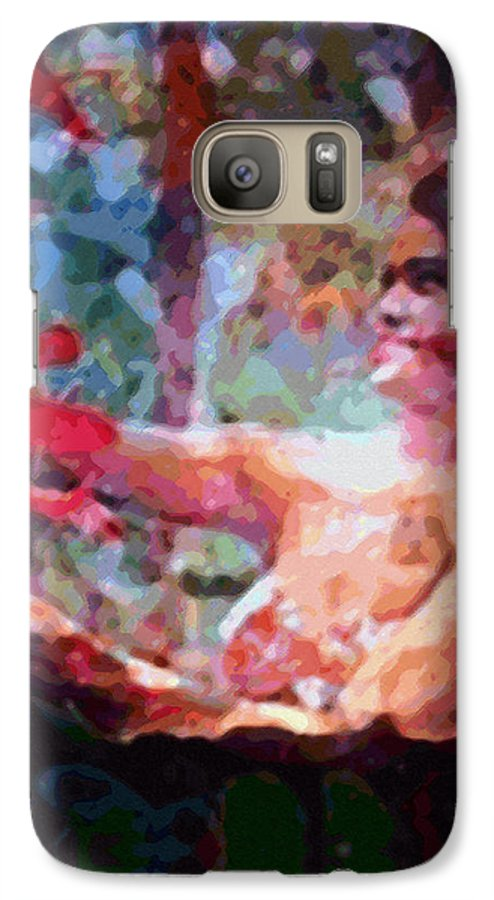 Rainbow Colors Digital Galaxy S7 Case featuring the photograph As If by Kenneth Grzesik