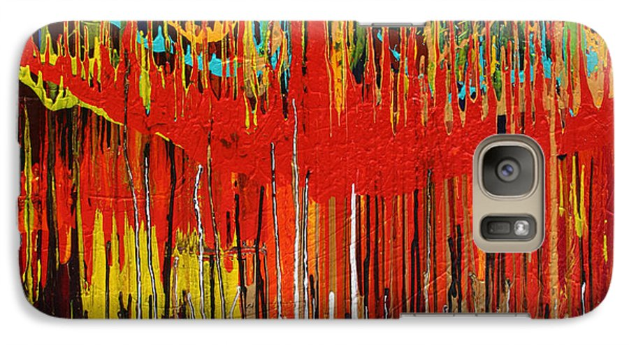 Fusionart Galaxy S7 Case featuring the painting Ascension by Ralph White