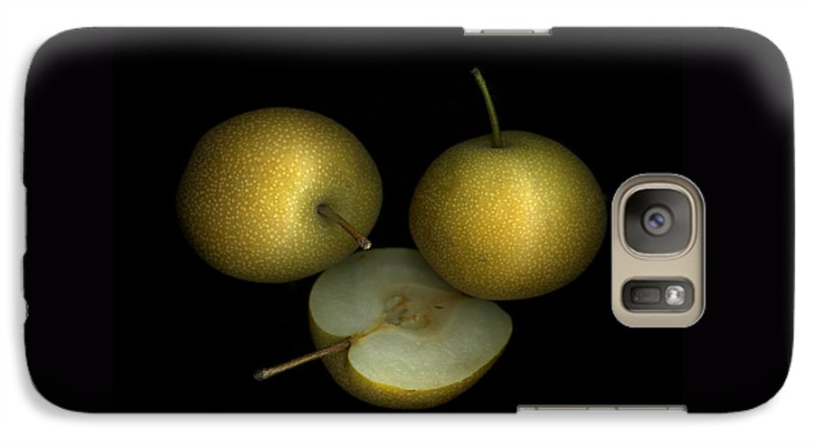 Culinary Galaxy S7 Case featuring the photograph Asian Pears by Christian Slanec