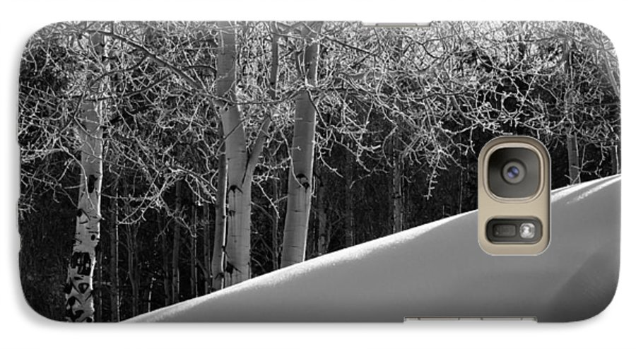 Colorado Galaxy S7 Case featuring the photograph Aspencade by Skip Hunt