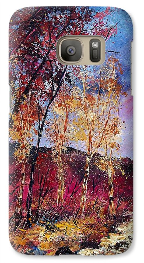 Landscape Galaxy S7 Case featuring the painting Autumn 760808 by Pol Ledent
