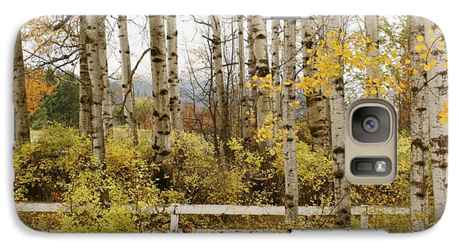 Grove Galaxy S7 Case featuring the photograph Autumn Grove by Idaho Scenic Images Linda Lantzy