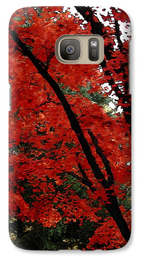 Autumn Galaxy S7 Case featuring the photograph Autumn In New England by Melissa A Benson