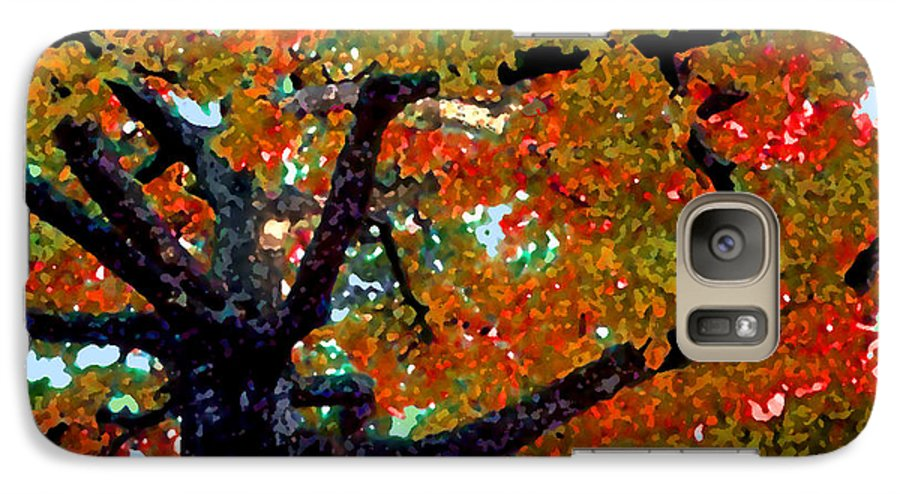 Fall Galaxy S7 Case featuring the photograph Autumn Tree by Steve Karol