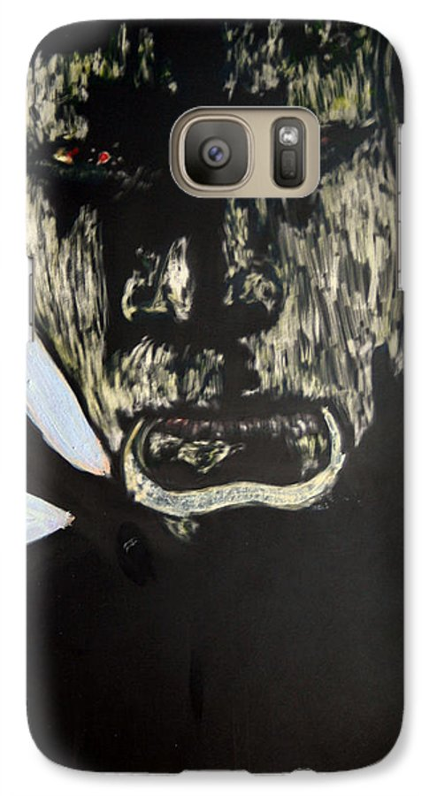 Galaxy S7 Case featuring the mixed media Avenging Angel by Chester Elmore