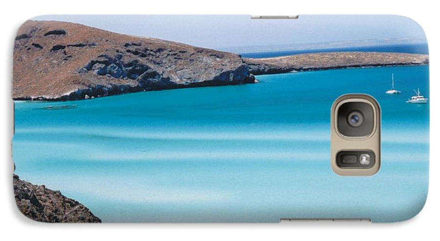 Blue Galaxy S7 Case featuring the photograph Balandra Bay by Kathy Schumann