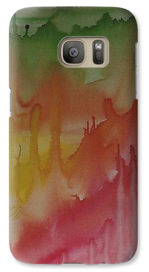 Bali Island Galaxy S7 Case featuring the painting Bali by Michael Puya