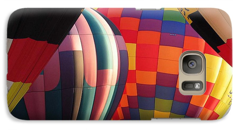 Hot Air Balloons Galaxy S7 Case featuring the photograph Balloons by Margaret Fortunato