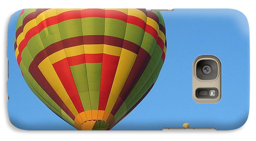 Hot Air Balloons Galaxy S7 Case featuring the photograph Balloons New Mexico by Margaret Fortunato