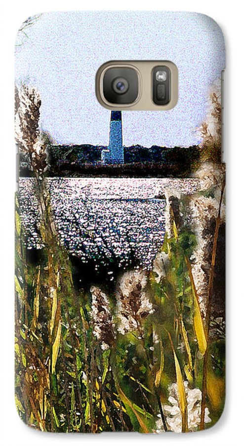 Barnegat Galaxy S7 Case featuring the digital art Barnegat Bay by Steve Karol