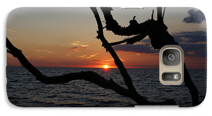 Delare Bay Galaxy S7 Case featuring the painting Bay Dreams by Debbie May