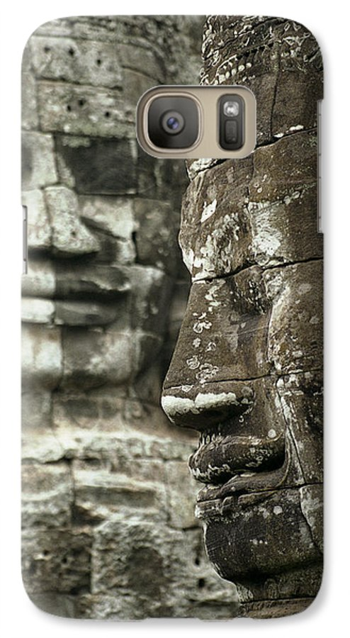 Bayon Galaxy S7 Case featuring the photograph Bayonii by Patrick Klauss