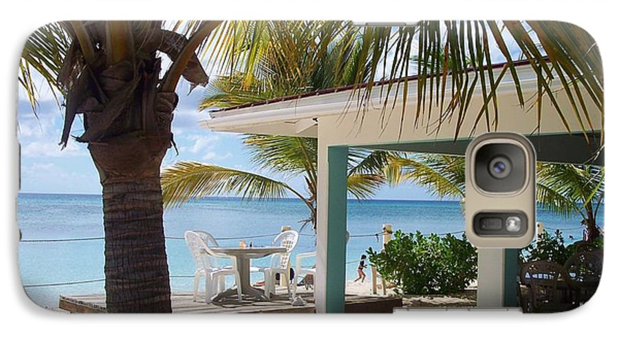 Beach Galaxy S7 Case featuring the photograph Beach In Grand Turk by Debbi Granruth