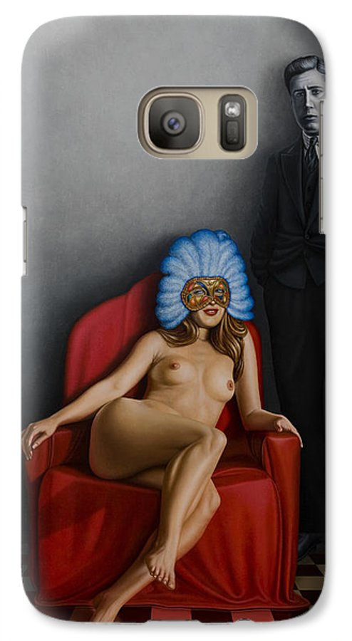 Nude Galaxy S7 Case featuring the painting Beauty Of The Carnival by Horacio Cardozo