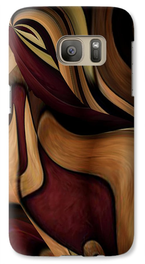 Beauty Queen Galaxy S7 Case featuring the painting Beauty Queen by Jill English