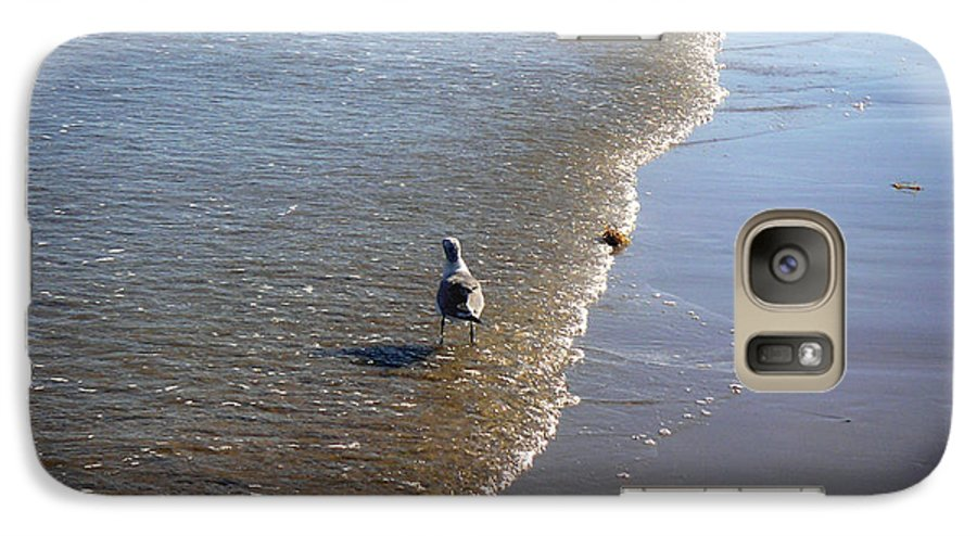 Nature Galaxy S7 Case featuring the photograph Being One With The Gulf - Ahead by Lucyna A M Green