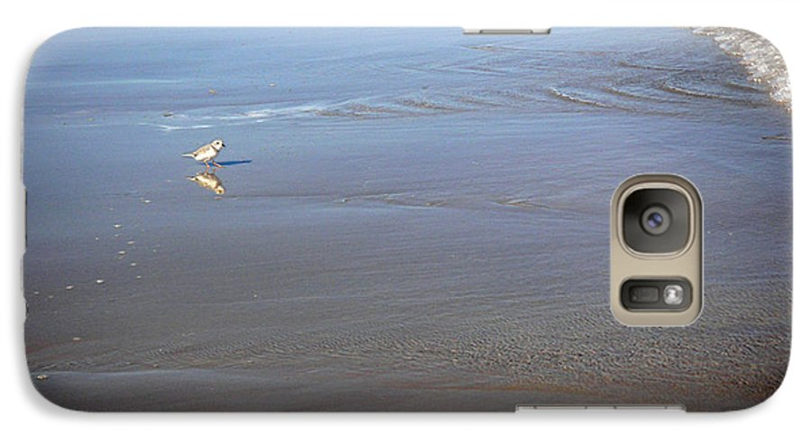 Nature Galaxy S7 Case featuring the photograph Being One With The Gulf - Cautious by Lucyna A M Green