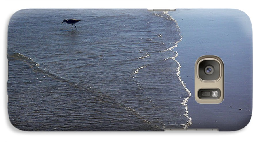 Nature Galaxy S7 Case featuring the photograph Being One With The Gulf - Pinpointing by Lucyna A M Green