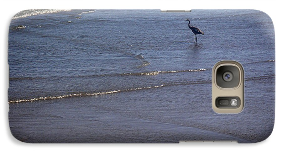 Nature Galaxy S7 Case featuring the photograph Being One With The Gulf - Watching by Lucyna A M Green