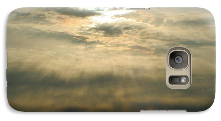 Sun Galaxy S7 Case featuring the photograph Believe by Idaho Scenic Images Linda Lantzy
