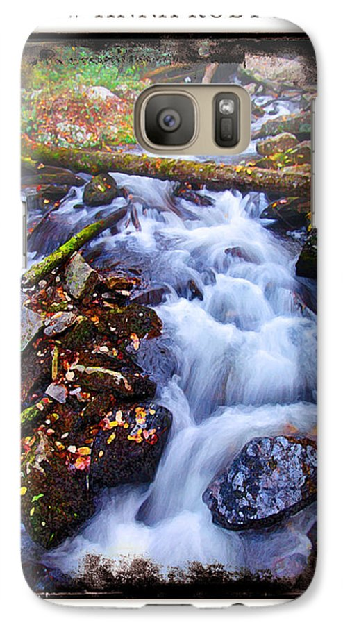 Landscape Galaxy S7 Case featuring the photograph Below Anna Ruby Falls by Peter Muzyka