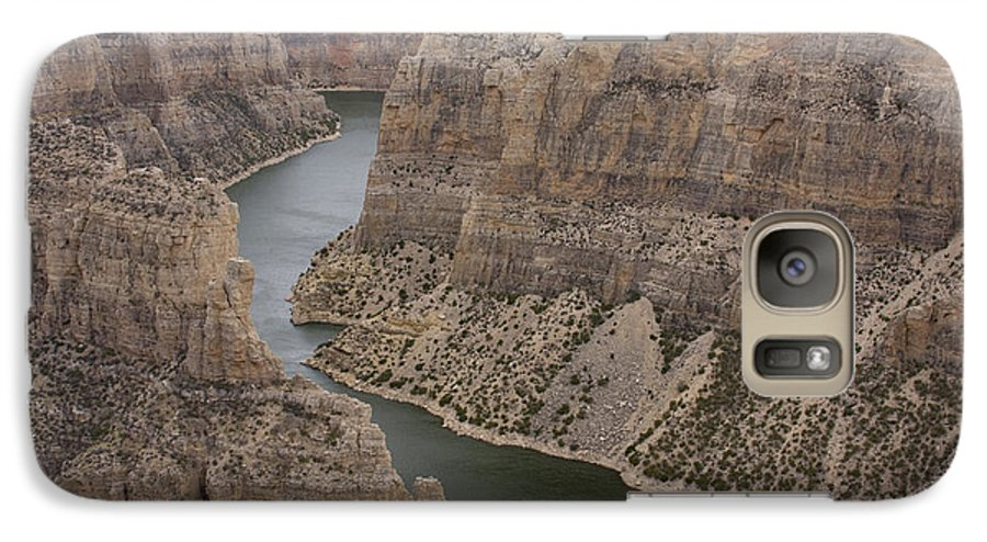 Canyon Galaxy S7 Case featuring the photograph Bighorn Canyon by Idaho Scenic Images Linda Lantzy