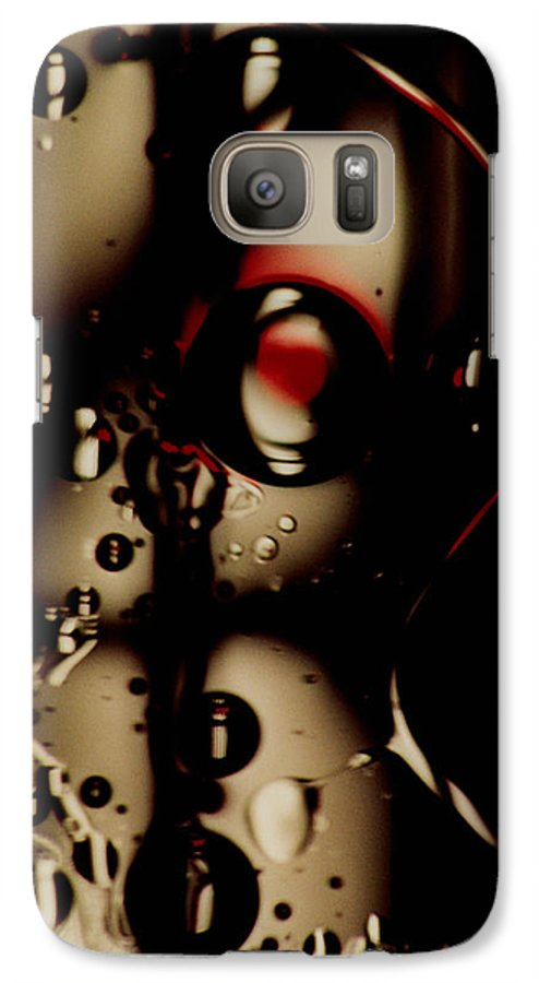 Abstract Galaxy S7 Case featuring the photograph Blade Runner by David Rivas