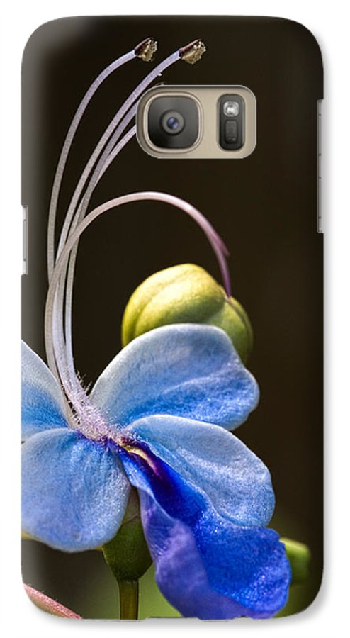 Flower Galaxy S7 Case featuring the photograph Blooming Butterfly by Christopher Holmes