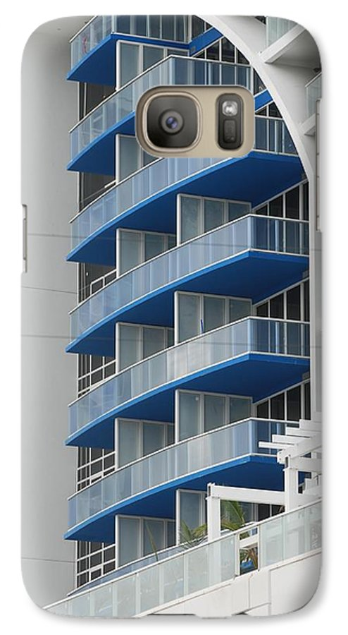 Architecture Galaxy S7 Case featuring the photograph Blue Bayu by Rob Hans