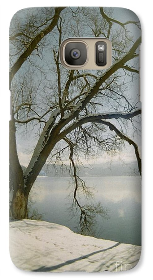 Blue Galaxy S7 Case featuring the photograph Blue Dream by Idaho Scenic Images Linda Lantzy