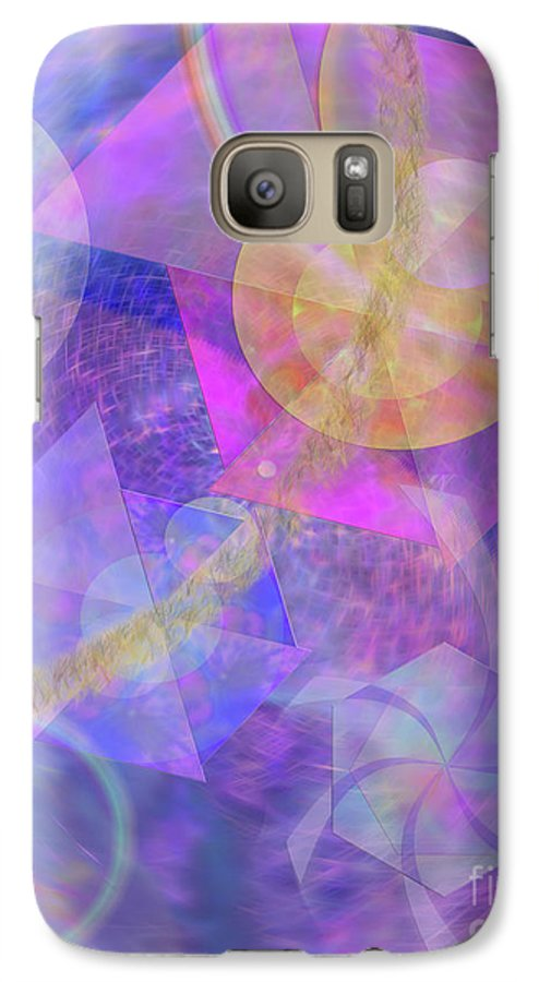 Blue Expectations Galaxy S7 Case featuring the digital art Blue Expectations by John Beck