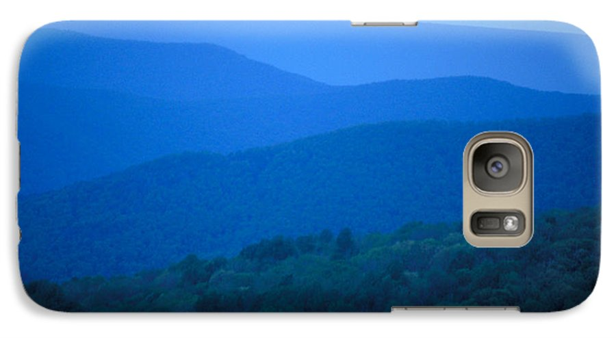 Mountains Galaxy S7 Case featuring the photograph Blue Ridge Mountains by Carl Purcell