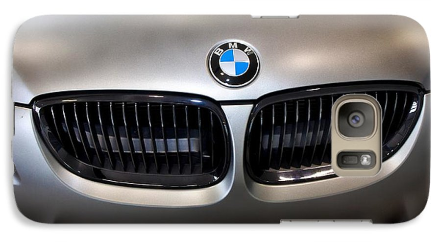 Bmw M3 Galaxy S7 Case featuring the photograph Bmw M3 Hood by Aaron Berg