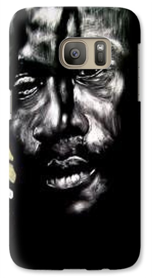 Portrait Galaxy S7 Case featuring the mixed media Bob Na I by Chester Elmore