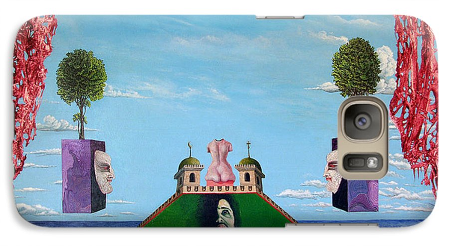 Painting Galaxy S7 Case featuring the painting Bogomils Monastic Retreat by Otto Rapp