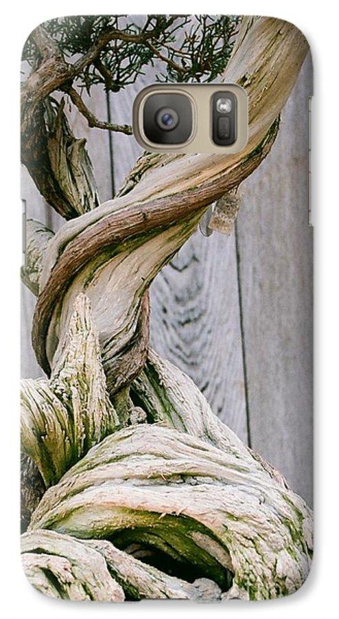 Tree Galaxy S7 Case featuring the photograph Bonsai by Dean Triolo