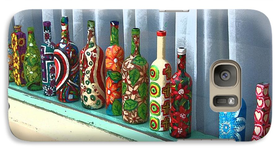Bottles Galaxy S7 Case featuring the photograph Bottled Up by Debbi Granruth